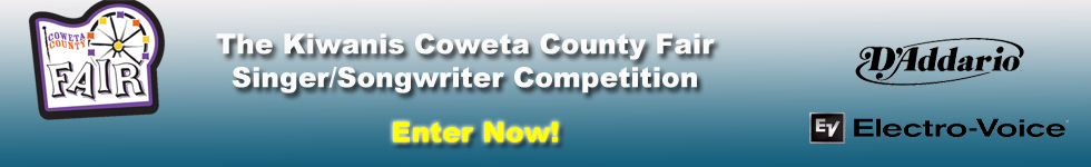 Coweta County Fair Singer Songwriter Competition 2014